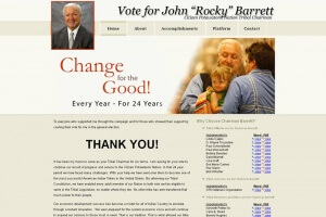 Rocky Barrett for CPN Chairman Image