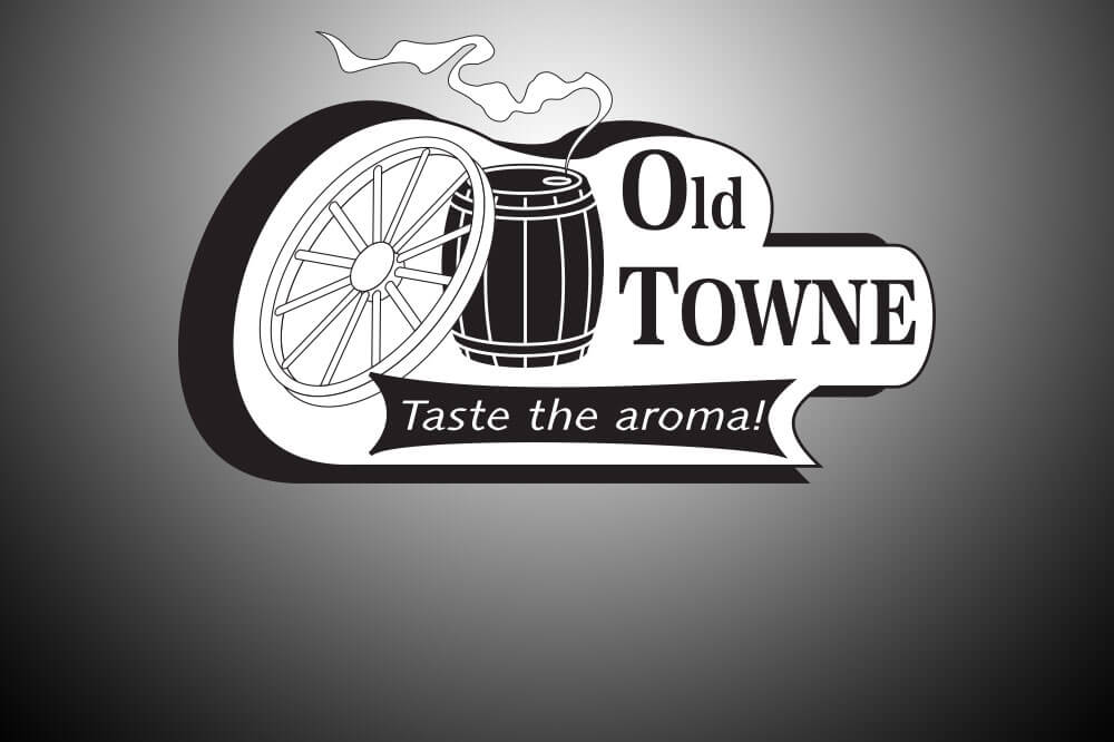 Old Towne Coffee Logo Design Image
