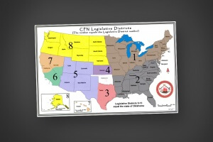 CPN Legislative Districts Map Image