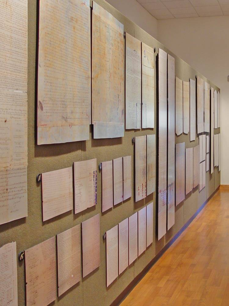 CPN Cultural Heritage Center Treaty Wall Image