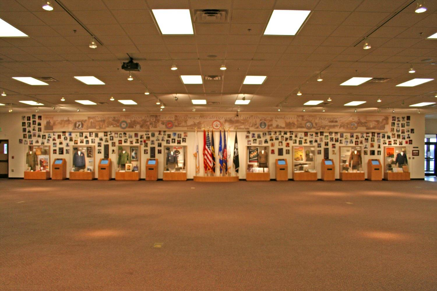 CPN Cultural Heritage Center Veterans Wall Image