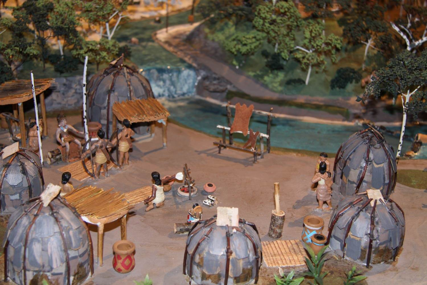 CPN Cultural Heritage Center Village Diorama Image