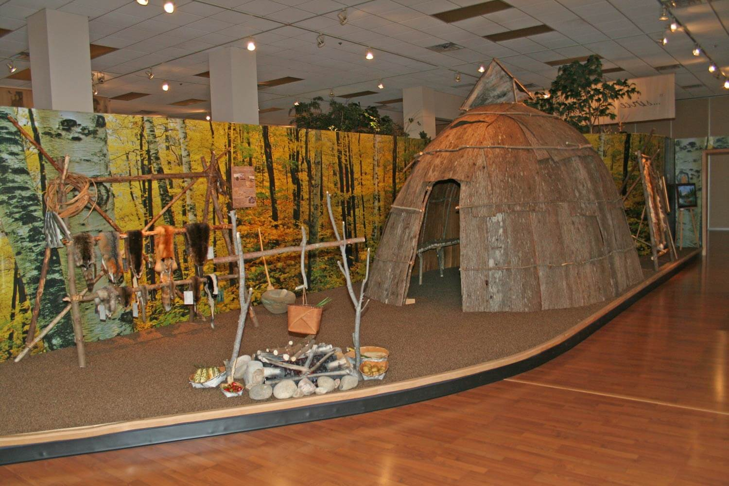 CPN Cultural Heritage Center Traditional Dwelling Image