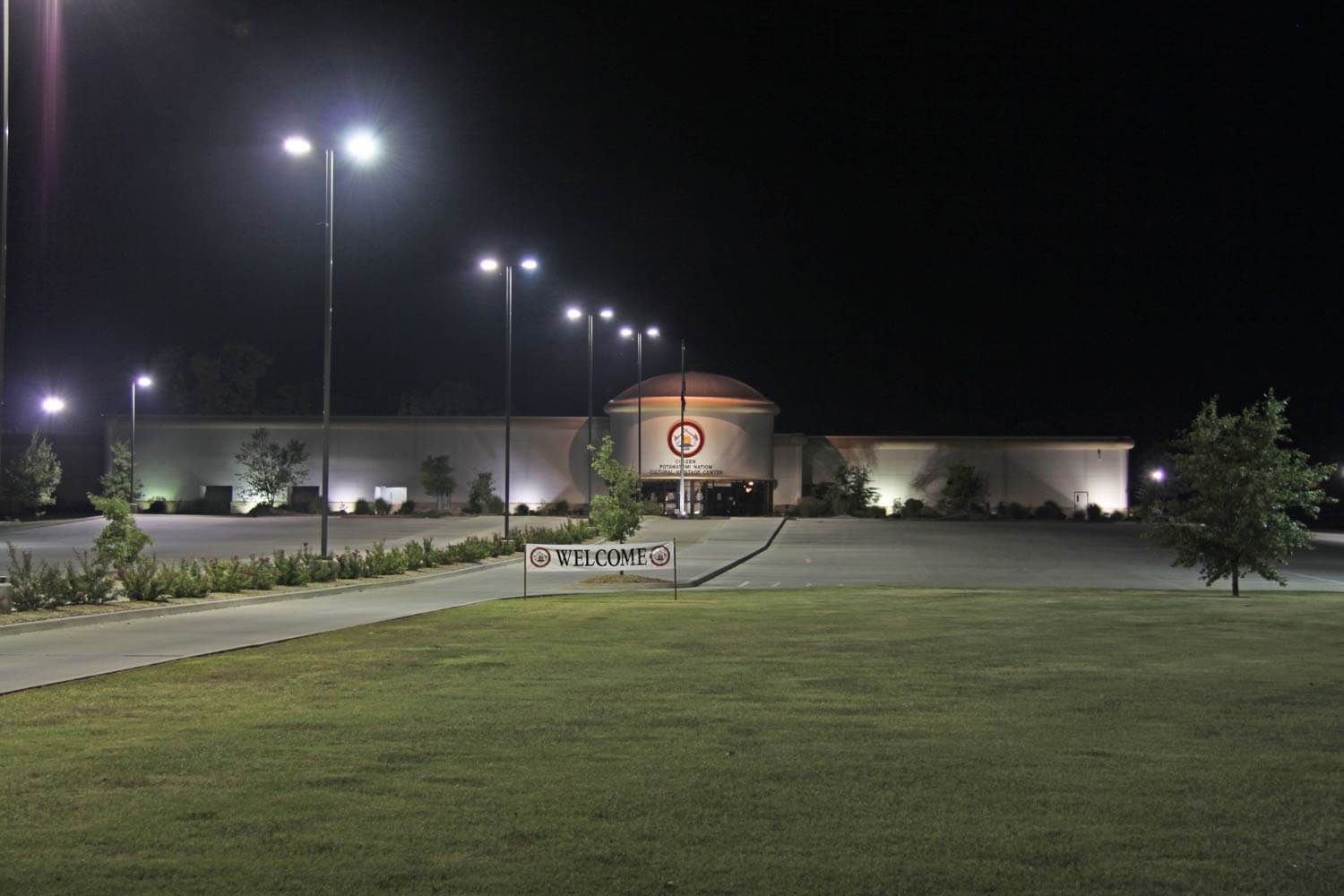 CPN Cultural Heritage Center at night Image