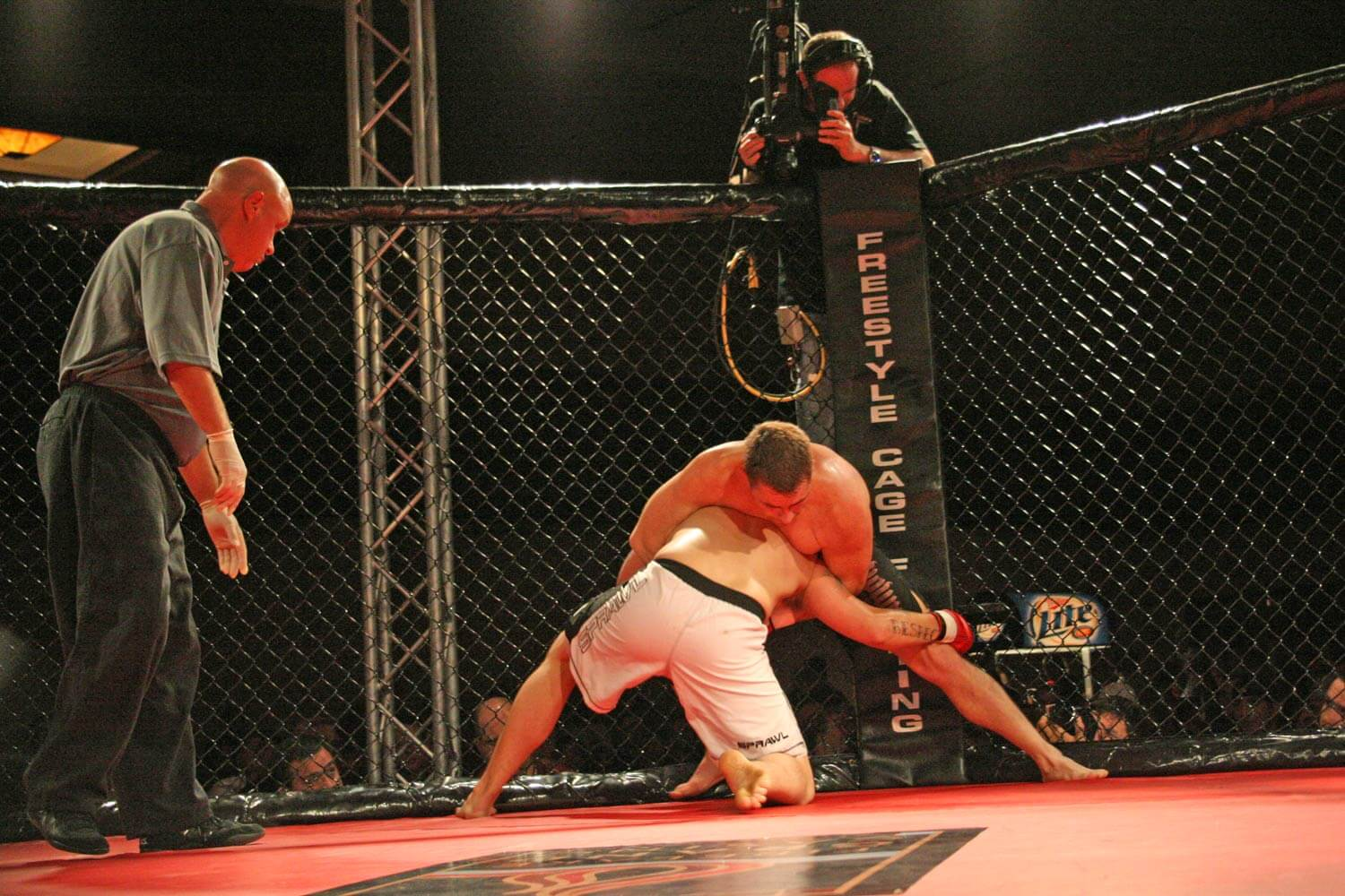 Freestyle Cage Fighting 27 Grappling Image