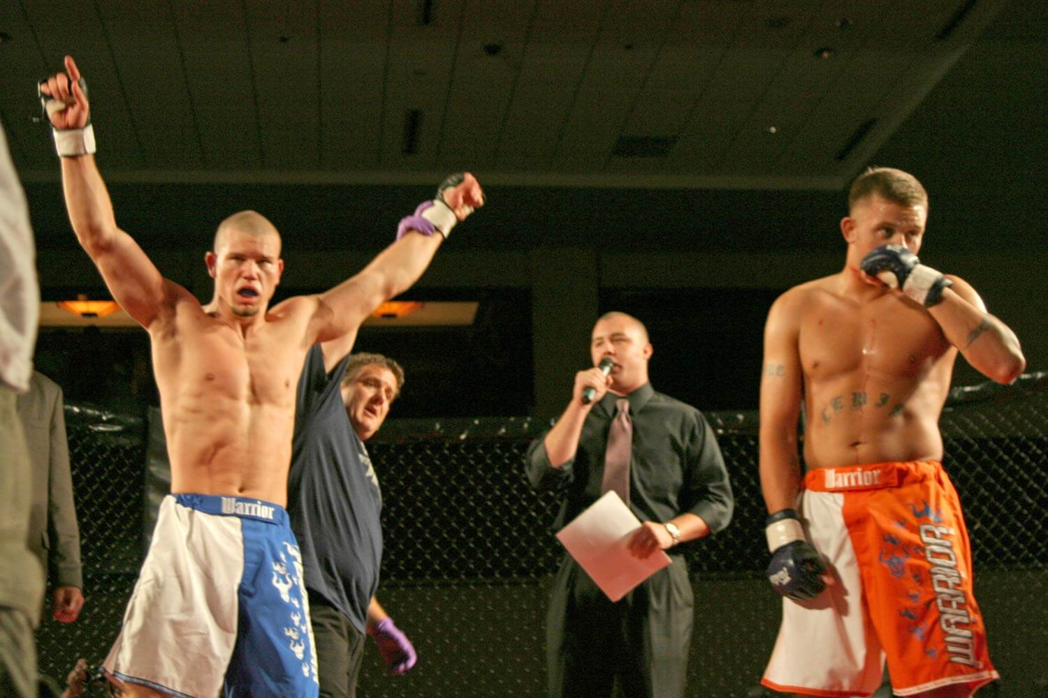 Freestyle Cage Fighting 27 Bout Winner Image