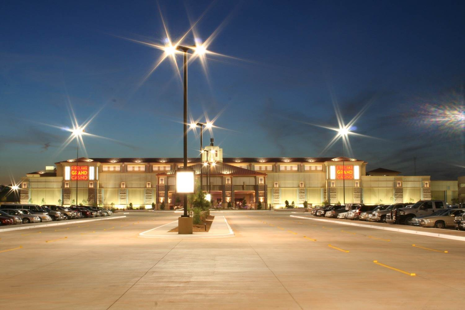 Nighttime Exterior at the Grand Casino Image