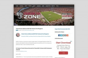 Crimson Tide Zone Image